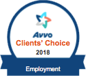 Avvo Clients' Choice 2018 Employment