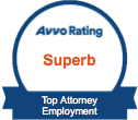 Avvo-Rating-Superb-Top-Attorney-Employment